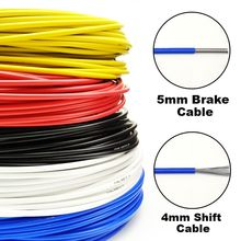 Hamulec motocyklowy obudowa obudowa zmiany biegów hamulec motocyklowy kabel hamulcowy linia przerzutka rowerowa linia do roweru szosowego MTB tanie tanio CN (pochodzenie) PVC+PTFE+heat treatment steel wire