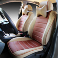 Couro especial tampas de assento do carro Para Fiat 500 Perla Palio Weekend Siena Albea Idea Panda Ducato punto styling acessórios do carro