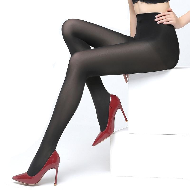 Women Pantyhose Sexy Stockings 80D Velvet Winter Tights Women Seamless Pantyhose Nylon Stockings for Women Medias Mujer 2PCS