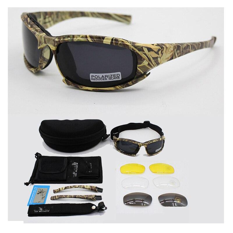 021f951569 SAIYU Daisy X7 Military Goggles Bullet-proof Army Polarized Sunglasses 4  Lens Hunting Shooting Eyewear Motorcycle Glasses X7