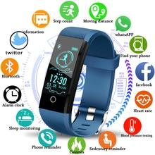 LIGE 2019 New Smart health Watch Men Women Fitness tracker Heart Rate Blood Pressure monitor Pedometer Waterproof bracelet