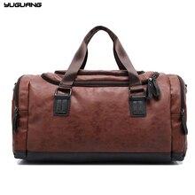 Neue Echtem leder reisetasche Männer seesack mit großer kapazität taschen mit schultergurt tasche leahter Handtasche für Männer