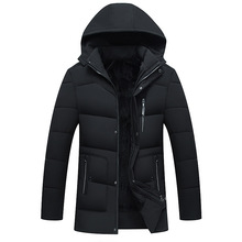 HOCO 2018 men jacket fleece thickening The clothes in winter to keep warm Down cotton-padded jacket