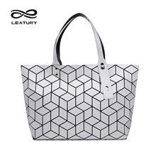 LEATURY 2017 Neueste Frauen Tasche Ziemlich Lässig Tote Water Cube Stil Handtasche Designer Berühmte Marke Luxus Tasche bolsos