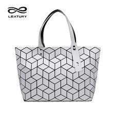 Leatury 2017 más nuevas mujeres bolso pretty water cube estilo bolso de diseñador de la marca famosa de lujo de asas casual bolsa bolsos