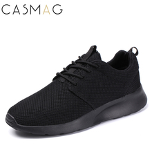 CASMAG New Design Men and Women Easy Running Shoes Outdoor Walking  Breathable Mesh Lightweight Sneakers Jogging