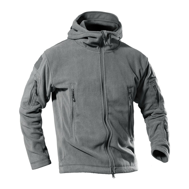New 2019 Tactical Casual Jacket Military Uniform Soft Shell Fleece Jacket Men Thermal Clothing Plus Size RS-192