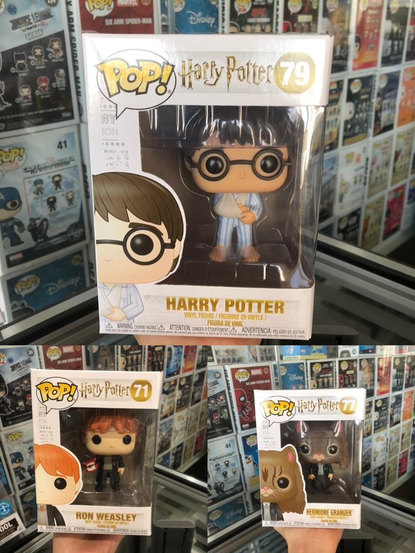 Funko pop Offizielle Harry Potter und der Stein der-Harry, Ron, hermine Vinyl Action Figure Sammeln Modell Spielzeug