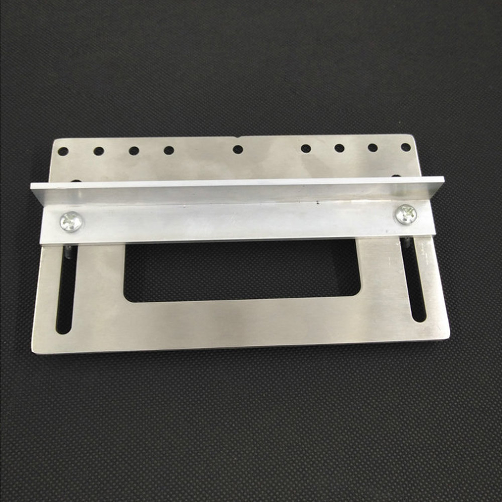 Handle Hole Locator Installation Wardrobe Cabinet Shoe Door Handle Auxiliary Stainless Steel Woodworking Decoration Tools