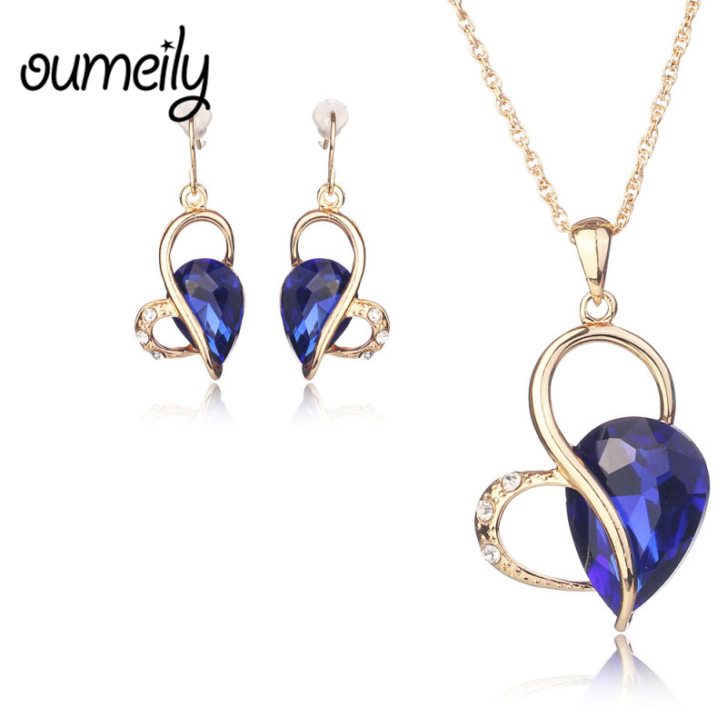 OUMEILY Jewelry Sets For Gold...