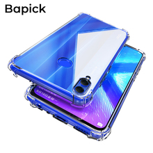 Bapick 360 Soft TPU Silicone Phone Case for Huawei Honor 8x 8c 8a 7a Protective 10 20 Lite Pro 10I Cover