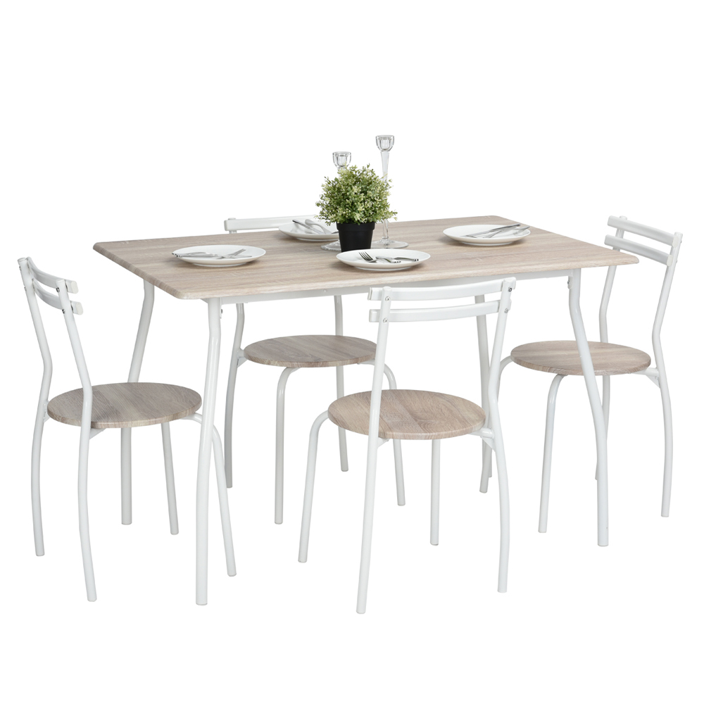 Aingoo  Attractive Design Dining Room Set Furniture Unique Fashion Design Brand and High Quality Modern Dining Chair Table Set marble table natural travertine dining table set luxury high quality natural store marble dining furniture table set nb 175