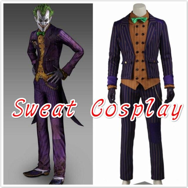 hochwertige batman arkham ritter joker cosplay kostum batman kostum erwachsenen cosplay batman joker kostum nach mass