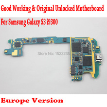 DHL/EMS Shipping i9300 Mainboard,Original Europe Version Unlocked For Samsung Galaxy S3 i9300 Motherboard with Chip,Good Working