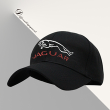 Customized car logo hat cotton washed high-grade fabric Jaguar racing cap Sports baseball cap
