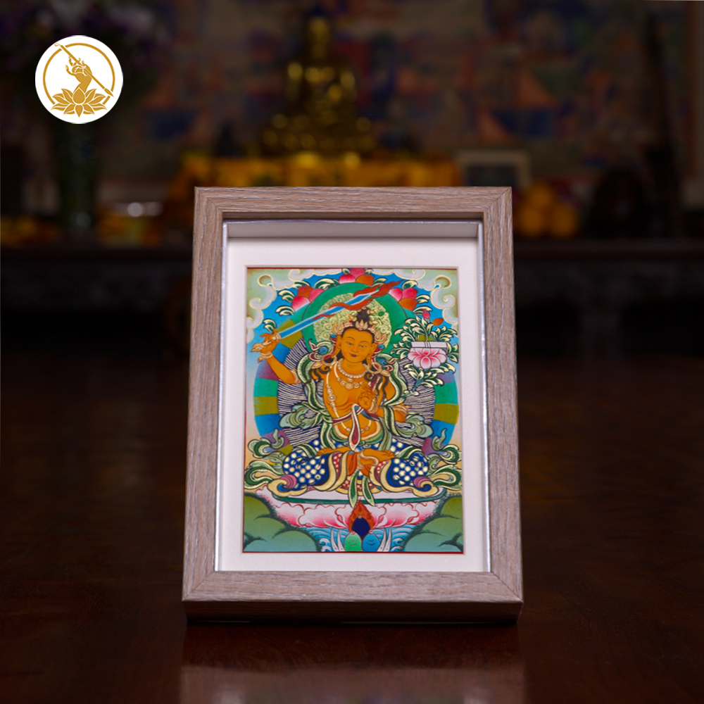 Hua Dan just let auspicious Thangka collections on Archives