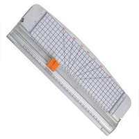 Perfect JIELISI 12 A4 Paper Cutter Trimmer White With Multi Function Automatic Security Safeguard When Cutting