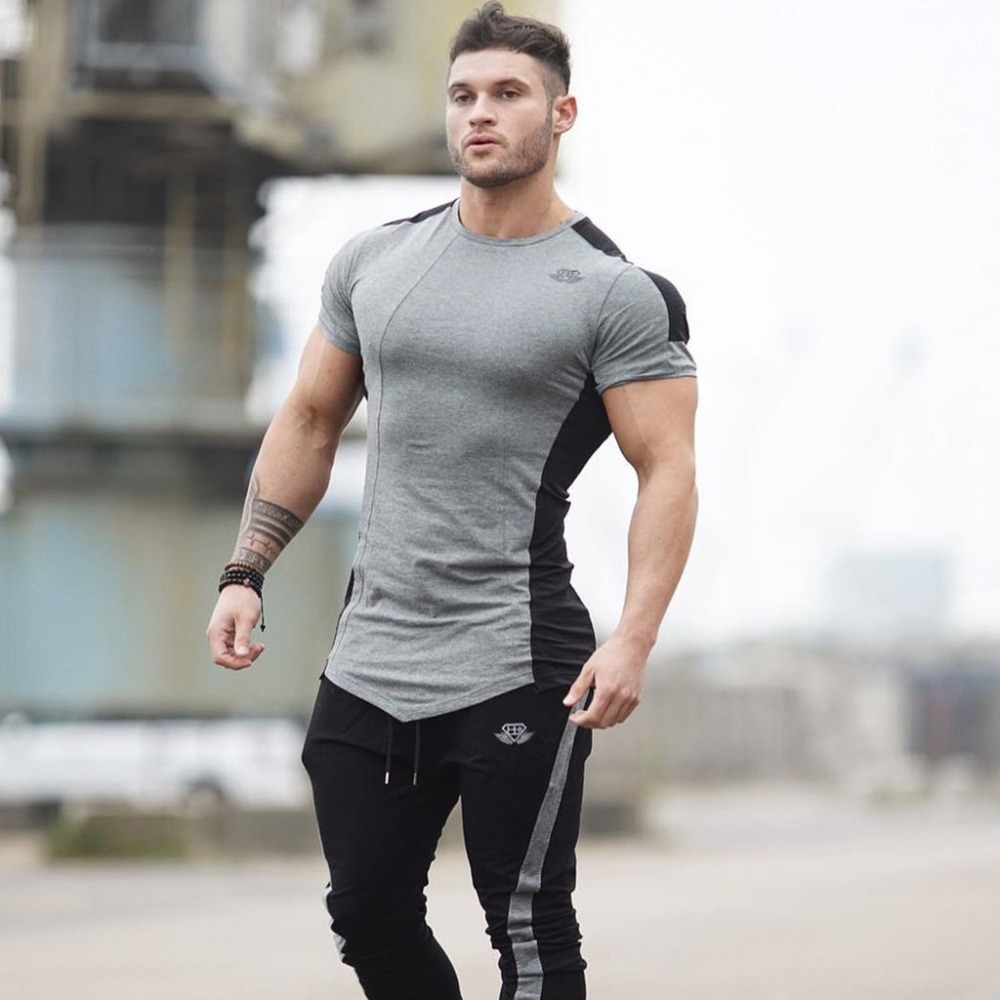 Buy fashion brand golds sporting short for Compression tee shirts for men