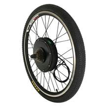 "48V E-bike Single Wheel 500W 1000W 1500W 20""-29"" Electric Mountain Bicycle Rear Wheel Replacement with Freewheel and Disc Brake(China)"