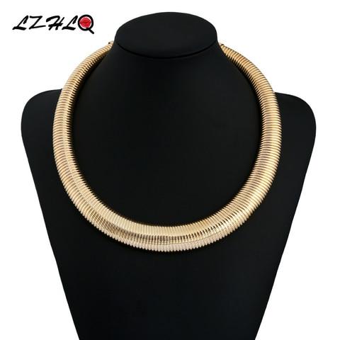 Купить lzhlq женские крупные ювелирные изделия в стиле панк металлическое