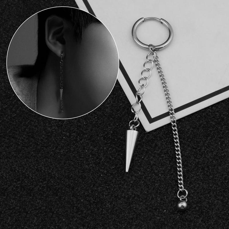 Korea KPOP BTS Bangtan Boys Album V DNA Stud Earrings Fashion Jewelry Accessories For Mens Womens Titanium Steel Earring 1pcs