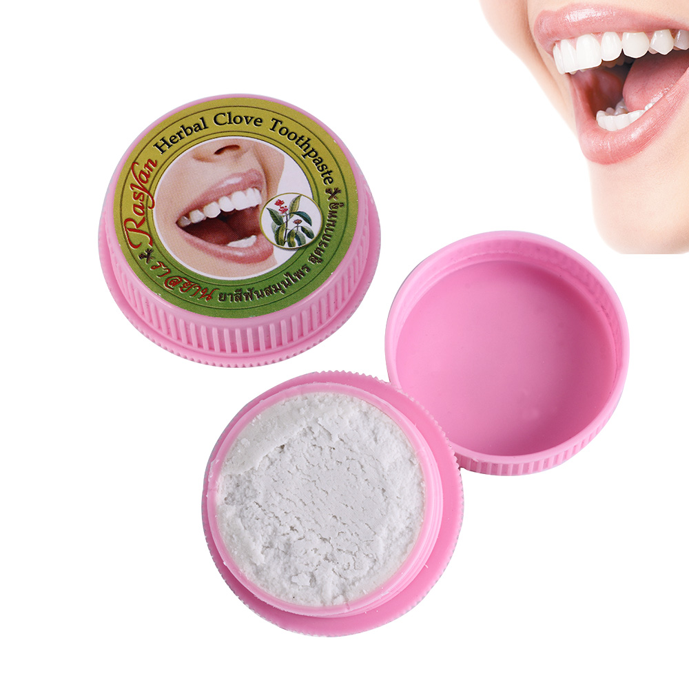 Image 5 - 10g/25g Herb Natural Herbal Clove Thailand Toothpaste Tooth  Whitening Toothpaste Antibacterial Allergic Tooth Pastetooth  whiteningthailand toothpasteherbal clove