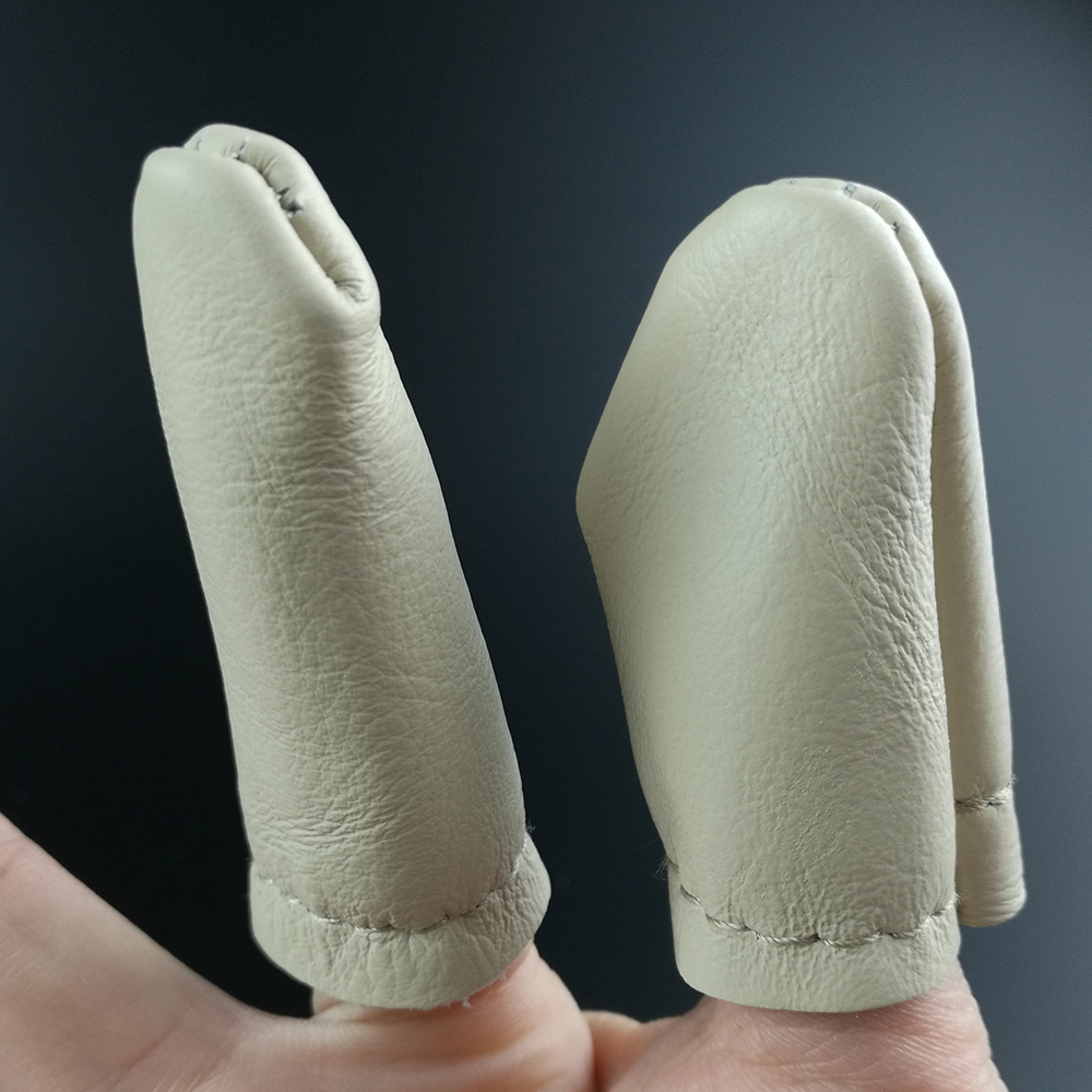 50pcs Thumb Index Finger Safe Embroidery Tool Leather Needle Felting Thumb Index Finger Protector Thimble Embroidery Craft Tool