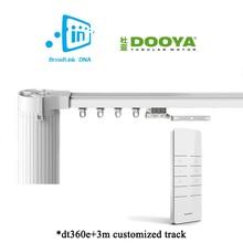 Ewelink Broadlink DNA Dooya WiFi cortina Motor + 3 M aluminio personalizable ventana eléctrica cortina barra riel IOS Android