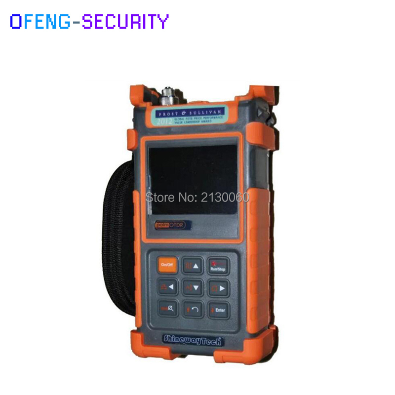 Handheld ShinewayTech S20C/X OTDR PON Optical Time Domain Reflectometer 1310/1550/1625nm SM Visual Fault Locator