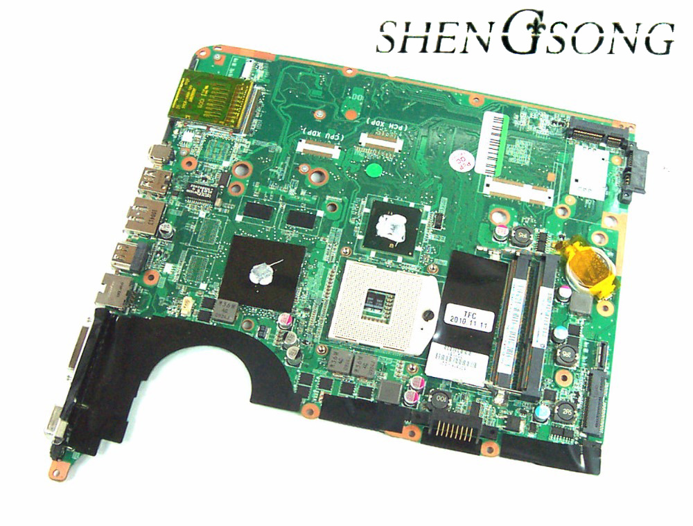 Free Shipping 600816-001 for HP PAVILION DV6 DV6-2000 laptop Motherboard Notebook PC systemboard 100% tested free shipping 720266 001 motherboard for hp pavilion 17 j notebook pc 740m 2g