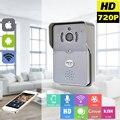 720 P IP Wi-fi Câmera Com Alarme de Detecção de Movimento de Vídeo Sem Fio Campainha Intercom Telefone IP Porta Telefone Sem Fio Da Porta de Controle sino