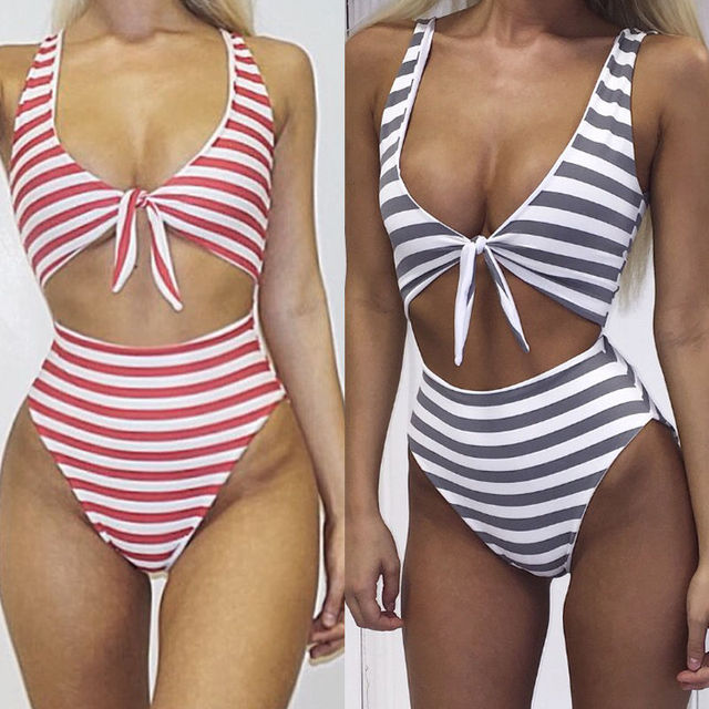 05acb21621 US $6.42 |Sexy Women Push up Bikini Set Padded Bandage Swimsuit Swimwear  Beachwear Bathing Suit Swimming Costume Summer Sportswear Swim-in One-Piece  ...