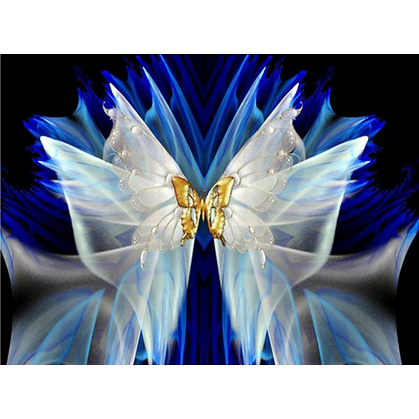 YTG Mariposa Costura Bordado 5D DIY Sala de Pintura de Diamante - Artes, artesanía y costura