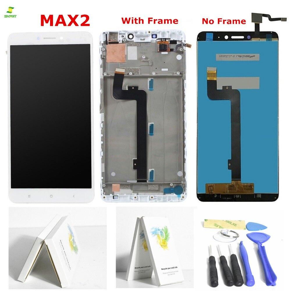 MAX2 6.44 Tactile Pour xiaomi mi MAX2 LCD Écran Tactile Digitizer Assemblée Cadre Remplacement Affichage Chaude Pour xiaomi redmi 6 écran