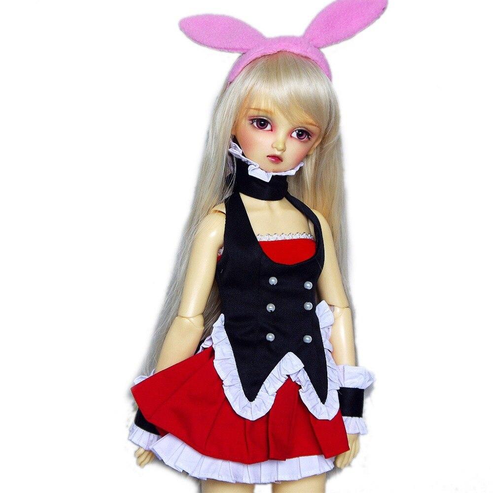 [wamami] 78# Bunny Girl Costume/Cosplay Uniform DD DDM DDL BJD Doll Dollfie shin megami tensei persona 4 p4 cosplay school boy black uniform costume