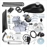 Free Shipping 2 Stroke 80cc MOTOR ENGINE KIT GAS FOR MOTORIZED BICYCLE CYCLE BIKE SPEEDOMETER