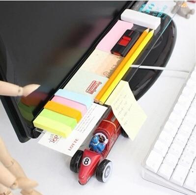 2db / set Keyboard Shelf Többfunkciós asztali tárolóállvány - Szervezés és tárolás - Fénykép 3