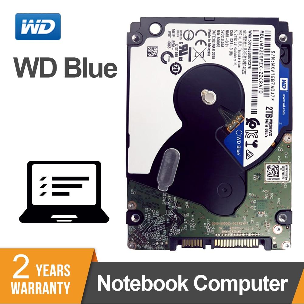 Western Digital Original WD Blue 2 5 2TB Mobile Internal Hard Disk Drive 5400RPM SATA 6Gb