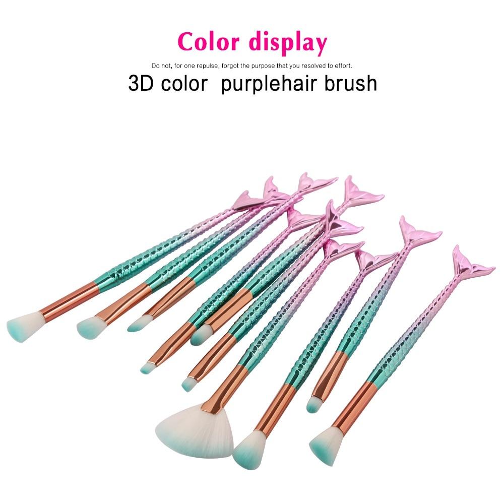 pó highlighter mistura pincéis de maquiagem kit ferramentas