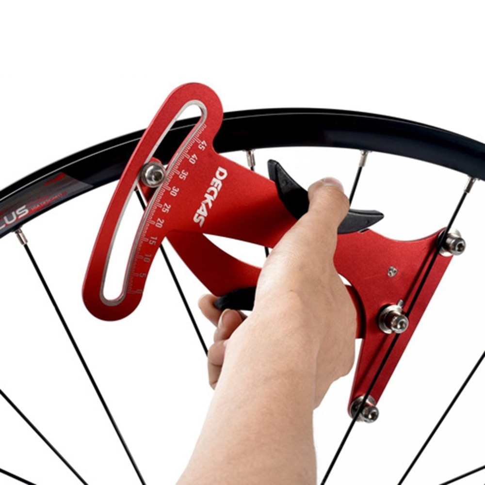 Outils de Réparation De vélos Vélo Tension des Rayons Mesure La Tension des Rayons Pour La Construction/Dressage Roues Vélo Outils De Réparation