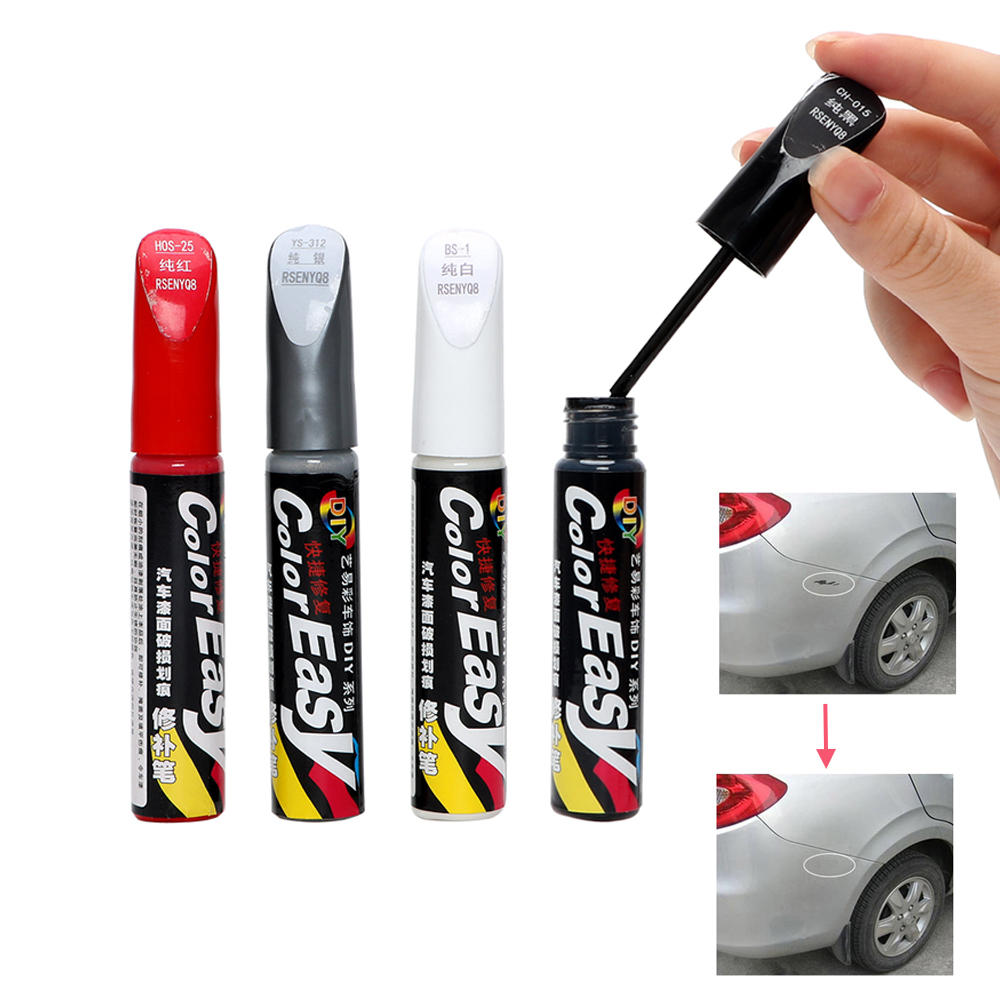1Pcs Car Scratch Repair Fix it Pro Auto Paint Pen Professional Car-styling Scratch Remover Magic Maintenance Paint Care 4 Colors карандаш для удаления царапин carplan t cut scratch magic 10ml rsm 040 href