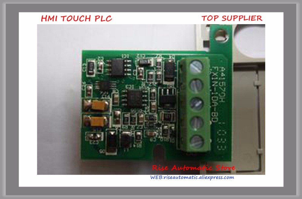 New Original PLC Module Communication Extension Board FX3G-1DA-BD new original functional expansion plate fx1n 2eyt bd
