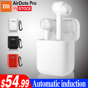 Image 1 - Xiaomi Airdots Pro หูฟังบลูทูธชุดหูฟังสเตอริโอ ANC สวิทช์ ENC หยุดอัตโนมัติควบคุมหูฟังไร้สาย