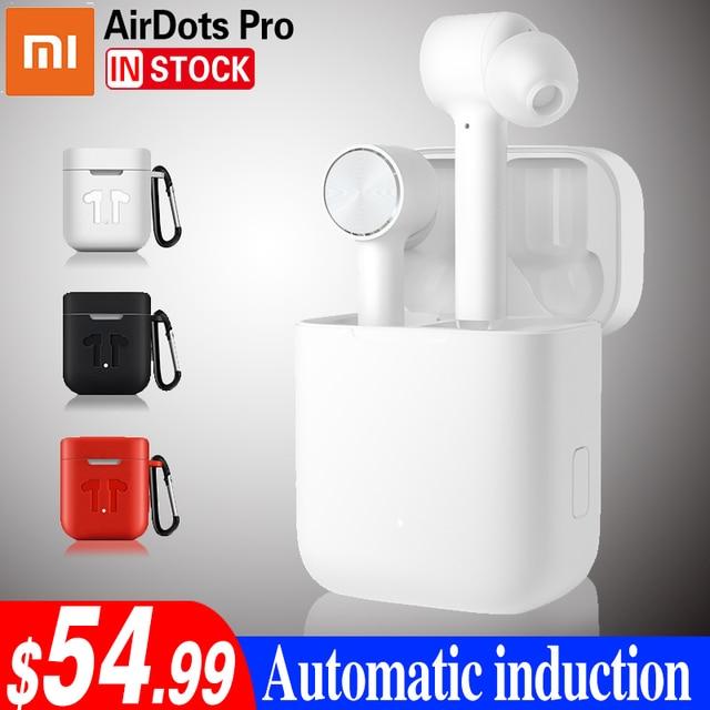 Xiaomi Airdots Pro หูฟังบลูทูธชุดหูฟังสเตอริโอ ANC สวิทช์ ENC หยุดอัตโนมัติควบคุมหูฟังไร้สาย