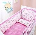Berço no quarto moda definir conjunto de cama, Borboleta rosa, Crianças / quarto cama de impressão de alta qualidade