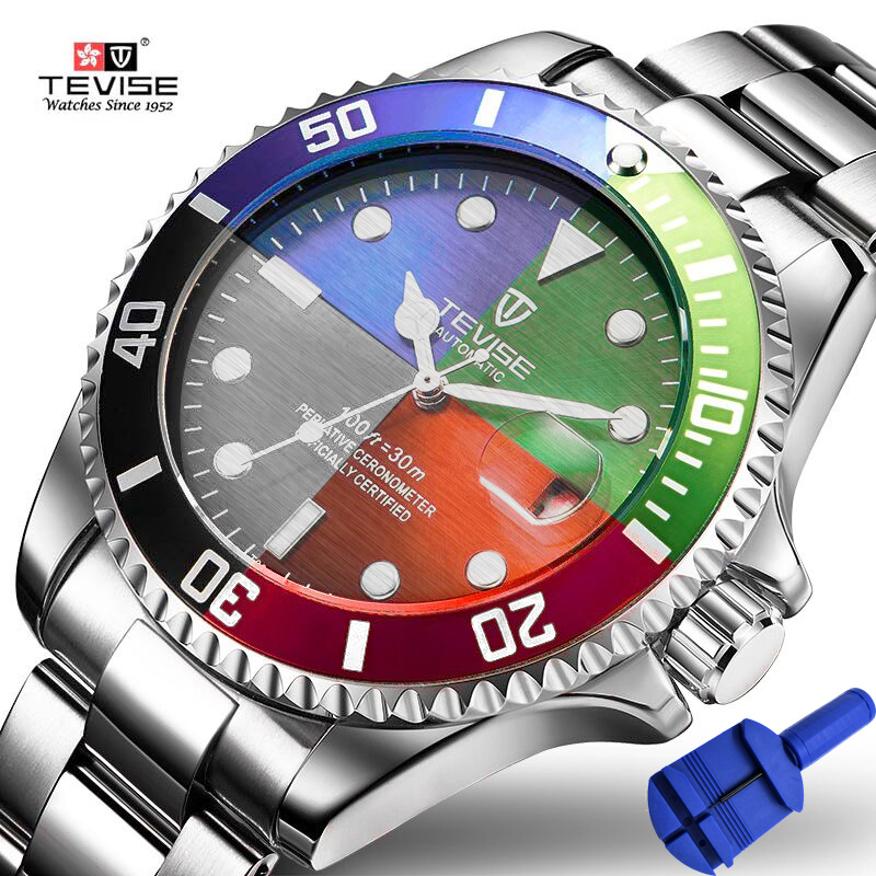 Tevise Top Brand Men Mechanical Watches Automatic Date Watch Fashione Luxury  Male Gold Clock Reloj Hombre Relogio MasculinoTevise Top Brand Men Mechanical Watches Automatic Date Watch Fashione Luxury  Male Gold Clock Reloj Hombre Relogio Masculino