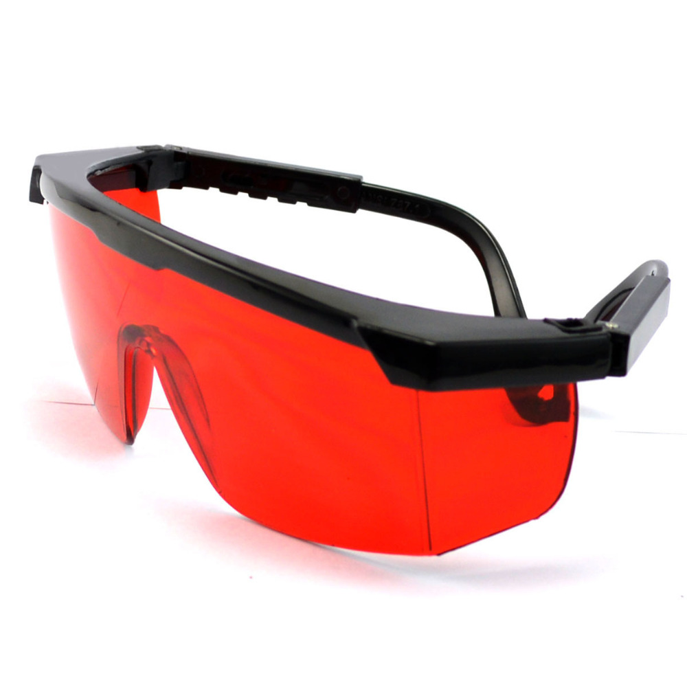 Safety goggles Protective Laser glasses Strong Resistance PC Industrial welding safety googles Labor eye protection 4 Colors 800nm 1700nm od4 900nm1100nm od5 laser protective goggles safety glasses 52