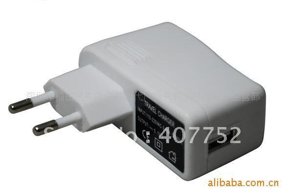 NEW EU USB AC Wall CHARGER FOR IPOD MP3 MP4 PDAS 10 piece/lot