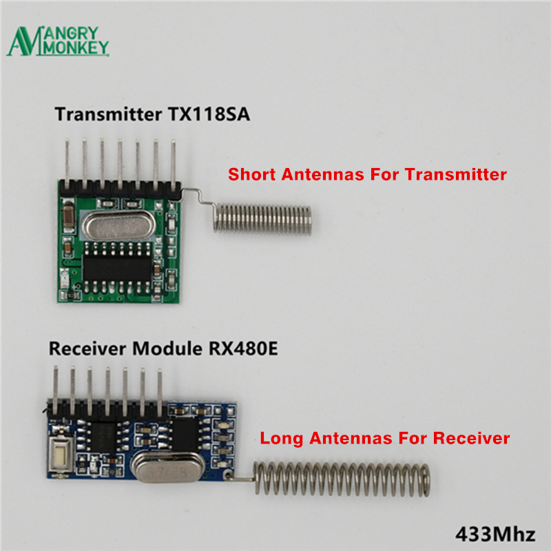 Worldwide delivery rf 433 module for arduino in NaBaRa Online