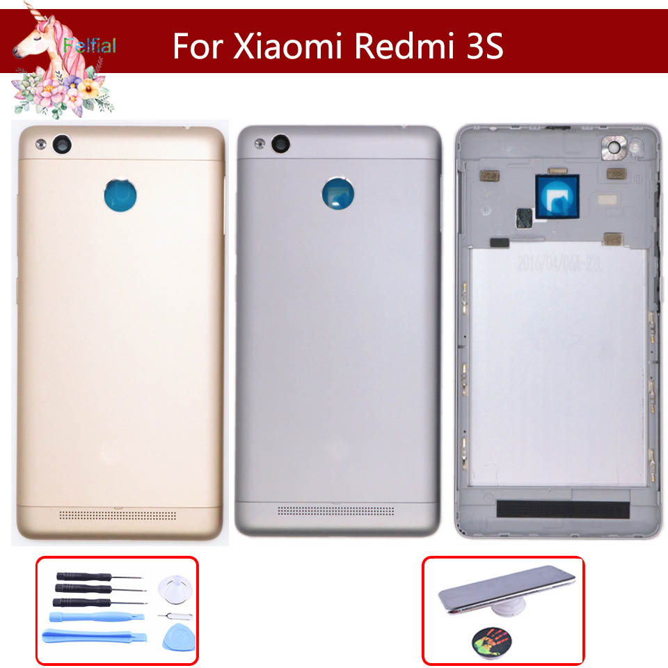 10pcs/ For Xiaomi <font><b>Redmi</b></font> <font><b>3S</b></font> <font><b>Battery</b></font> <font><b>Cover</b></font> Rear Door Back Housing Case Middle Chassis Replacement For Xiaomi <font><b>Redmi</b></font> 3 <font><b>Battery</b></font> <font><b>Cover</b></font> image
